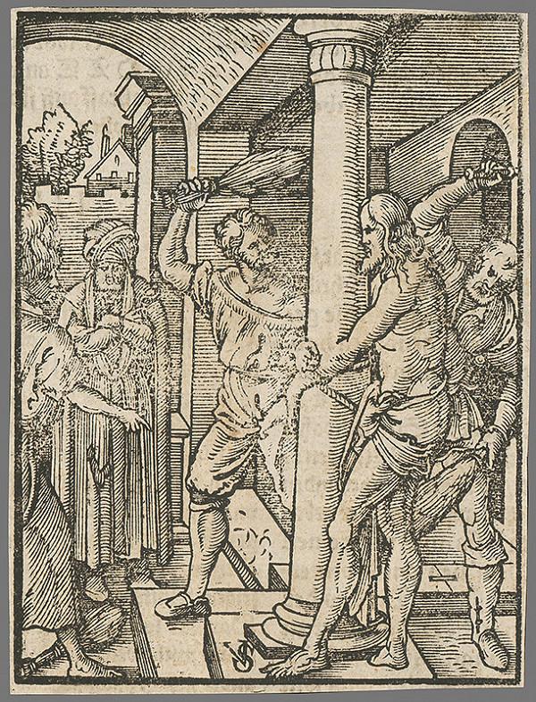 Carlo Salis – Bičovanie Krista