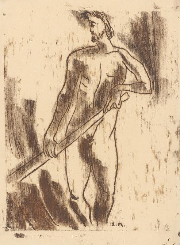 Eugen Nevan - Muž s kosou