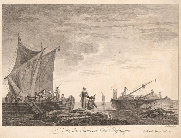 Pierre Charles Canot, Jean Baptiste Pillement – Pohľad na okolie Flessinque