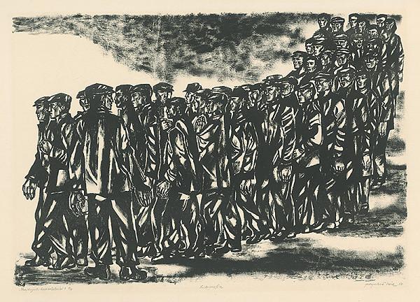 Viera Gergeľová - Štrajkujúci kovorobotníci