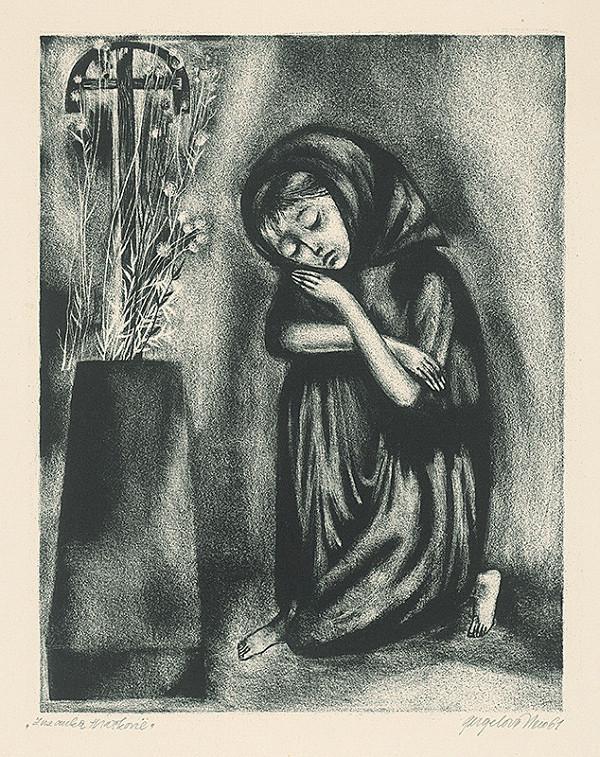 Viera Gergeľová - Na cintoríne