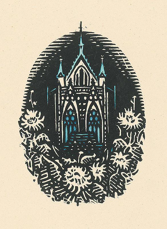 Ľudovít Fulla - Modrá katedrála