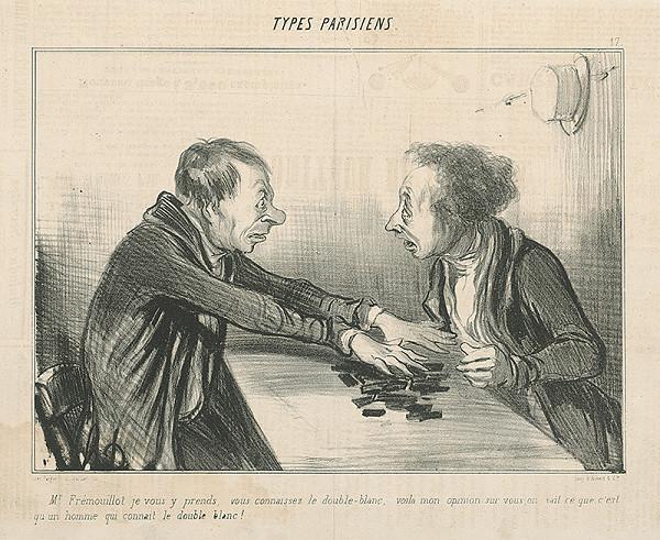 Honoré Daumier - Domino
