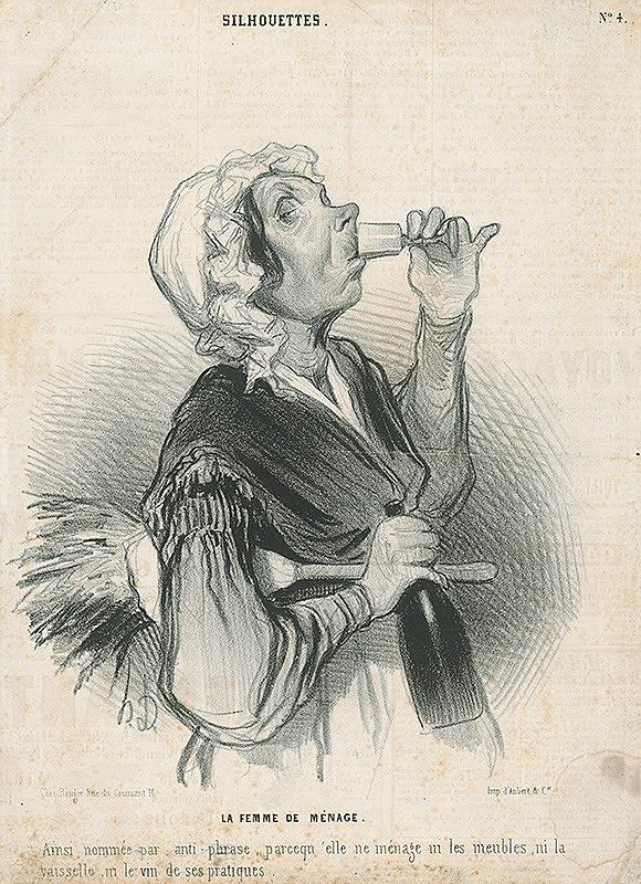 Honoré Daumier – Posluhovačka