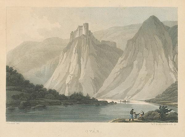 Jakob Adolf Fischer, Wilhelm Friedrich Schlotterbeck - Starhrad (Starý hrad)