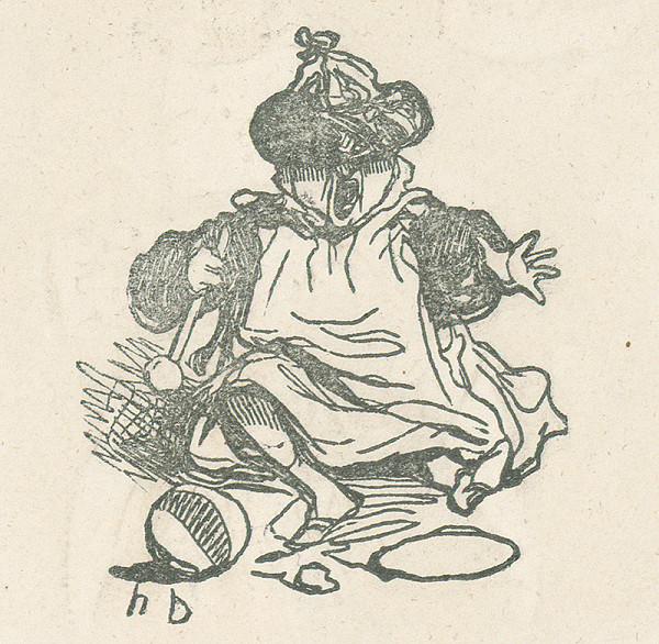 Honoré Daumier - Dieťa