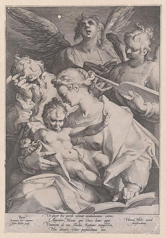 Joannes Muller, Anton Spranger – Svätá rodina