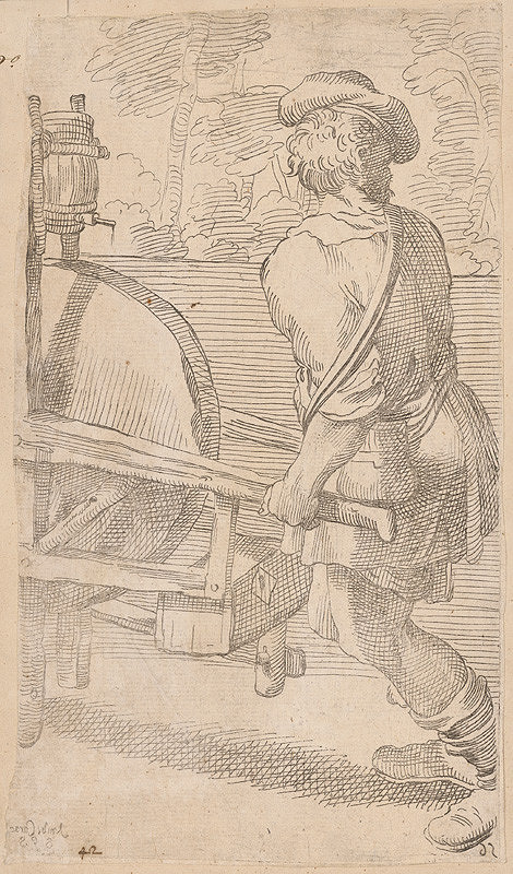 Annibale Carracci - Brusič