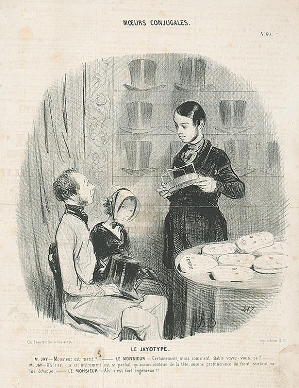 Honoré Daumier – Manželské mraky