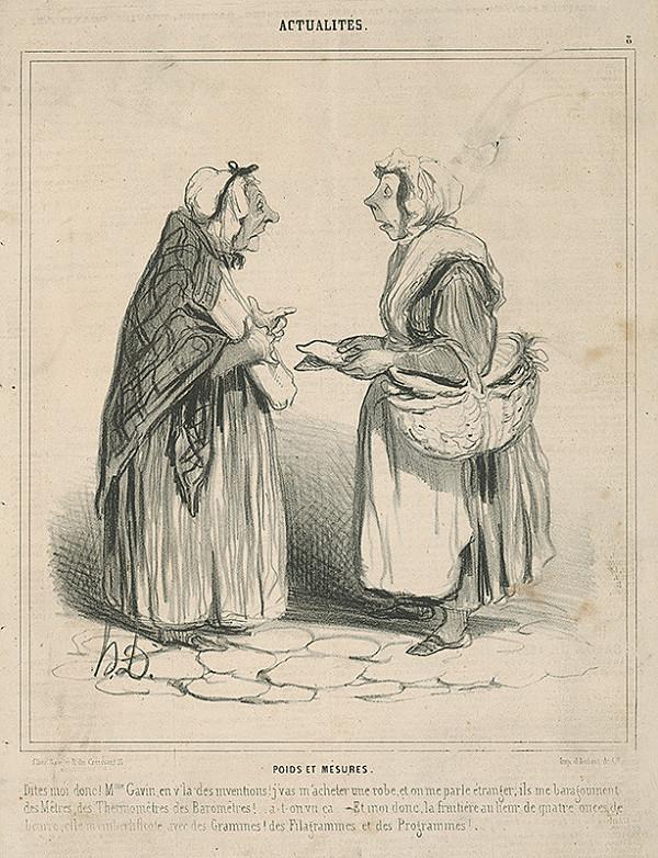 Honoré Daumier – Miery a váhy