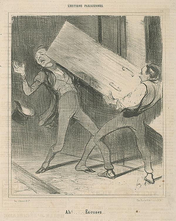 Honoré Daumier – Ah, prepáčte!
