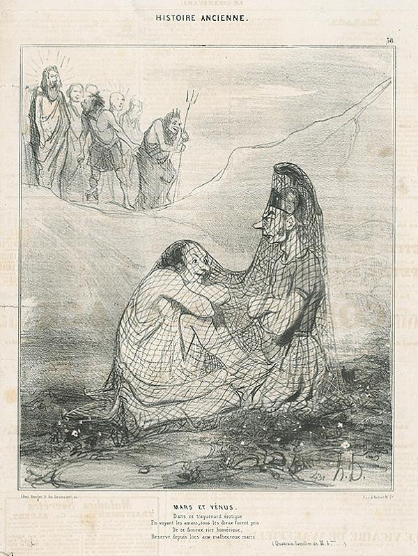 Honoré Daumier – Mars a Venuša