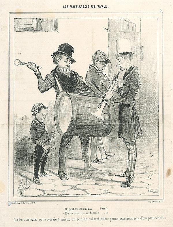 Honoré Daumier – Kde kto sa ako cíti