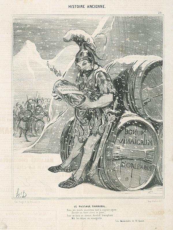 Honoré Daumier - Hanibal