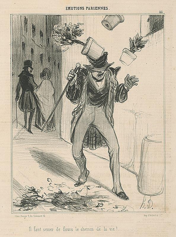 Honoré Daumier – Kvety
