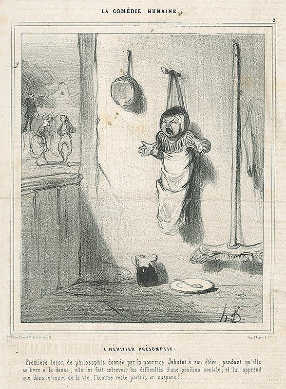Honoré Daumier – Tanec