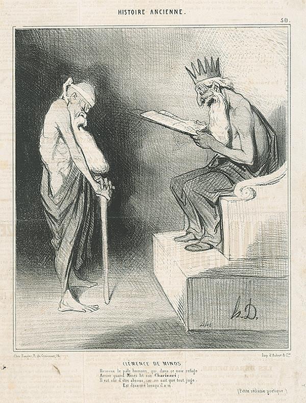 Honoré Daumier – Milostivý Minos