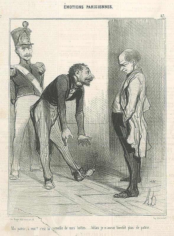 Honoré Daumier – Moja vlasť