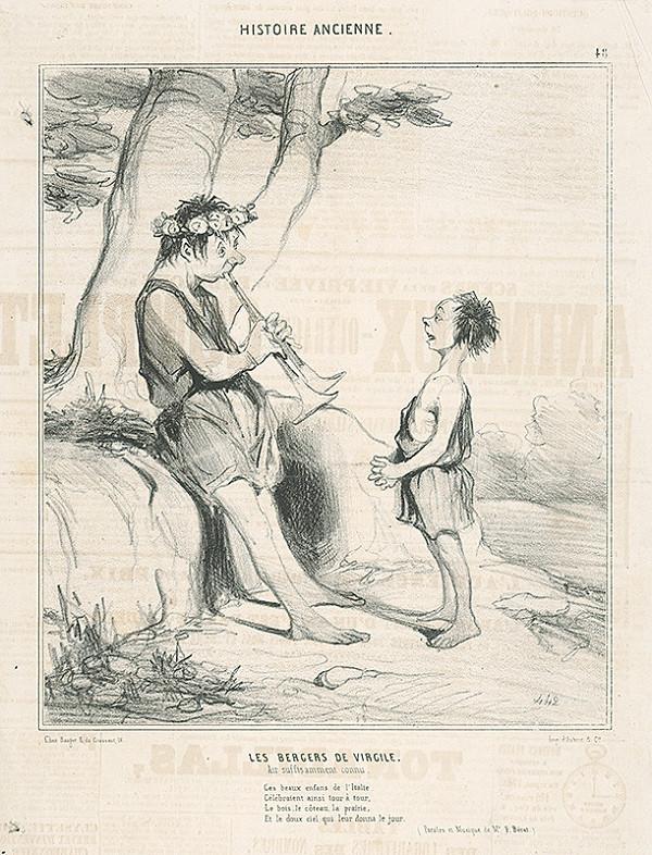 Honoré Daumier – Pastieri