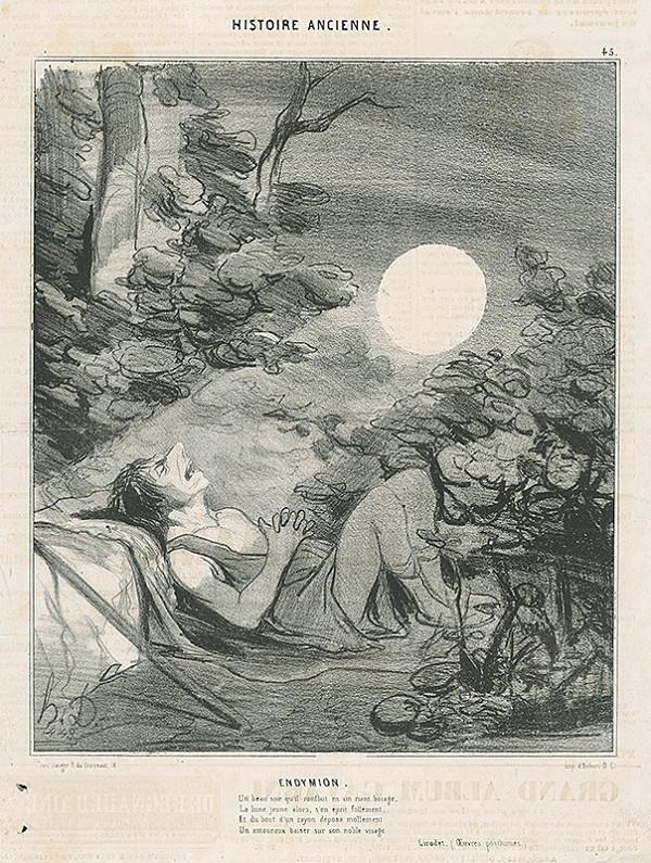 Honoré Daumier – Endymion