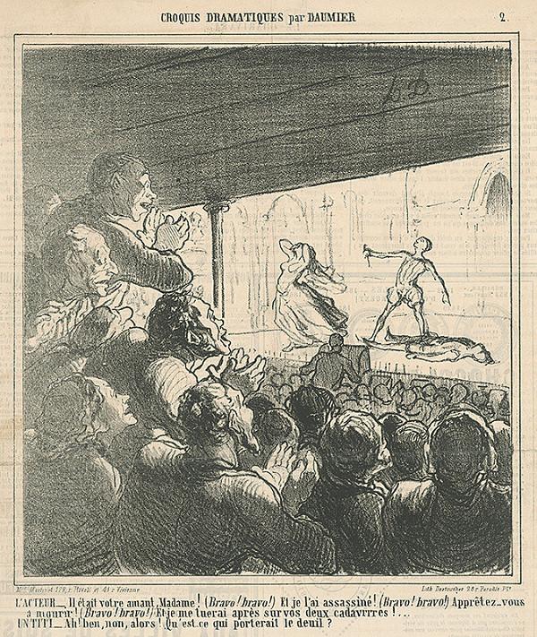 Honoré Daumier - Herec