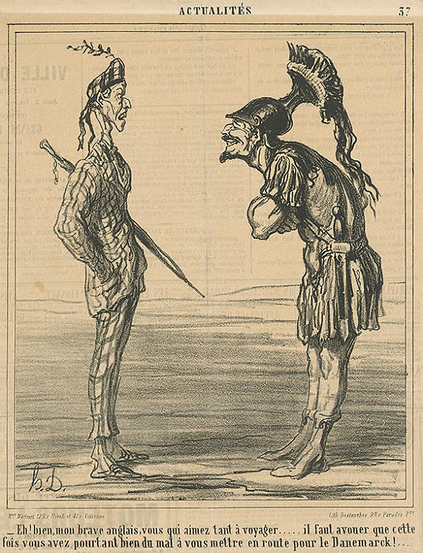 Honoré Daumier – Bojovníci