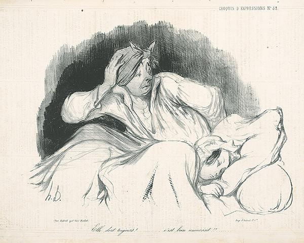 Honoré Daumier - Noc