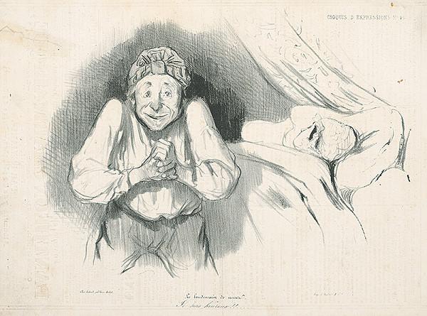 Honoré Daumier - Šťastie