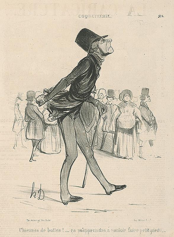Honoré Daumier – Malé topánky