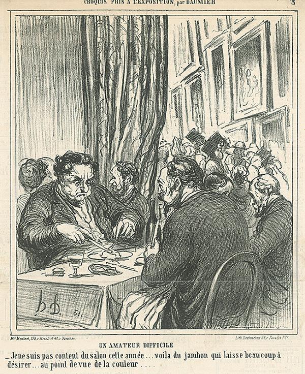 Honoré Daumier – Náročný milovník