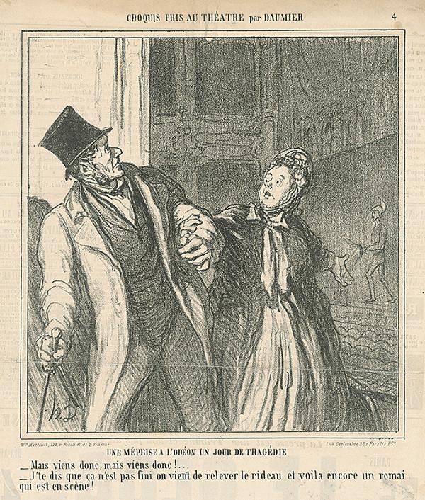 Honoré Daumier – V divadle