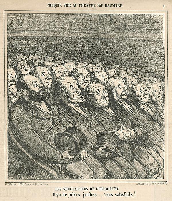 Honoré Daumier – Z divadla