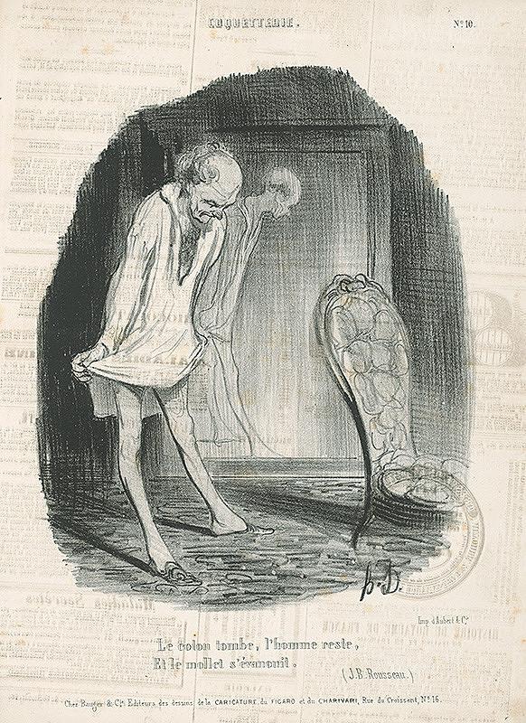 Honoré Daumier – Košeľa