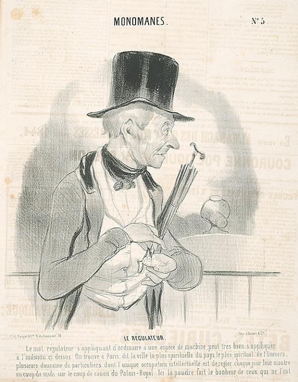 Honoré Daumier - Regulátor