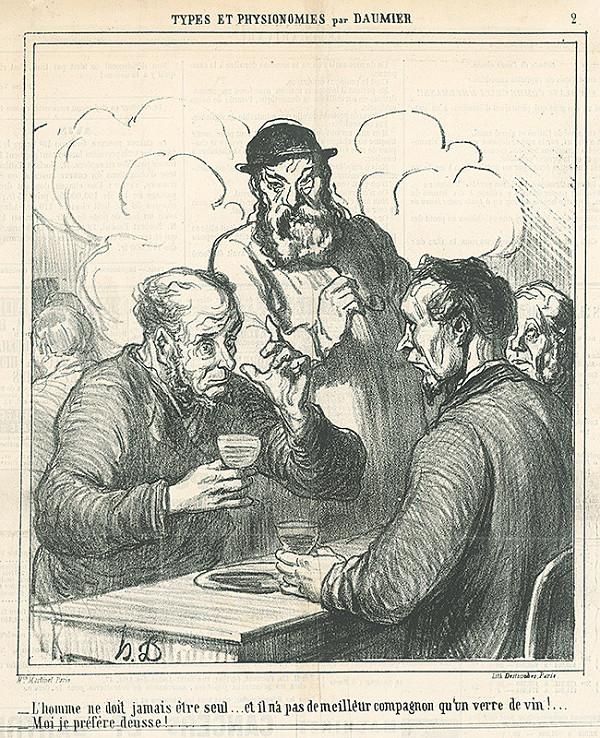 Honoré Daumier – Spoločnosť