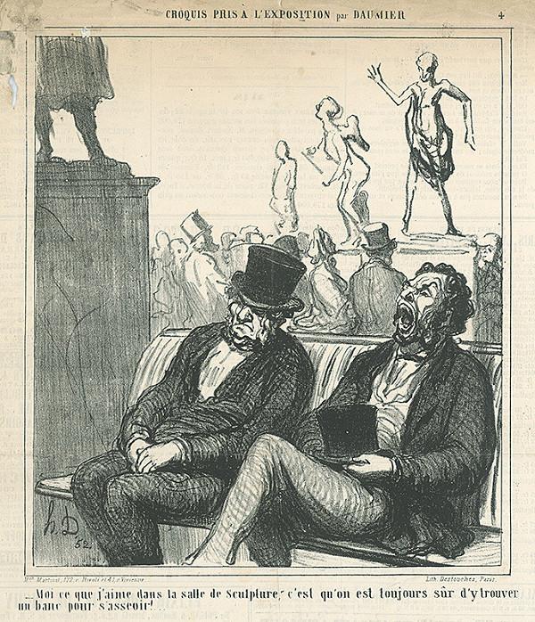Honoré Daumier – Vo výstave sôch