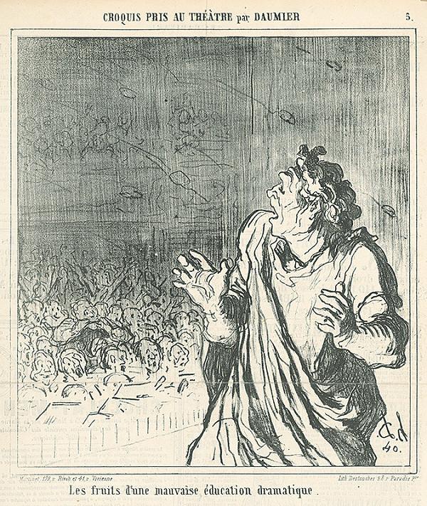Honoré Daumier - Predstavenie