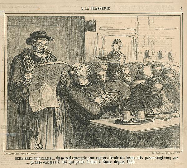 Honoré Daumier – Posledné správy