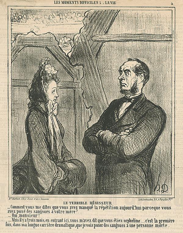 Honoré Daumier – Hrozný režisér