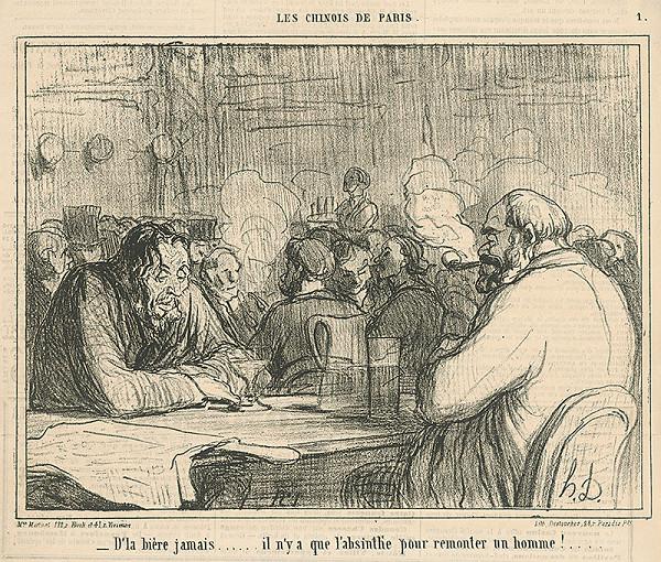 Honoré Daumier - V krčme