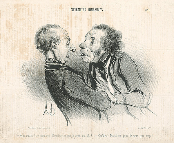 Honoré Daumier - Dych