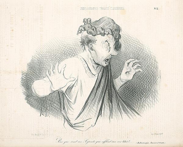 Honoré Daumier - Klasický herec