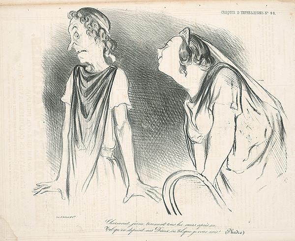 Honoré Daumier – Milenci