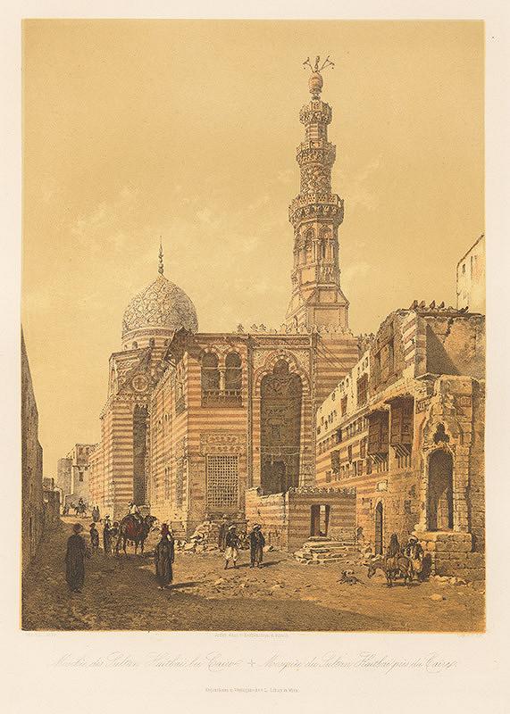 Karol Ľudovít Libay – Mešita Sultána Haitbai v Káhire