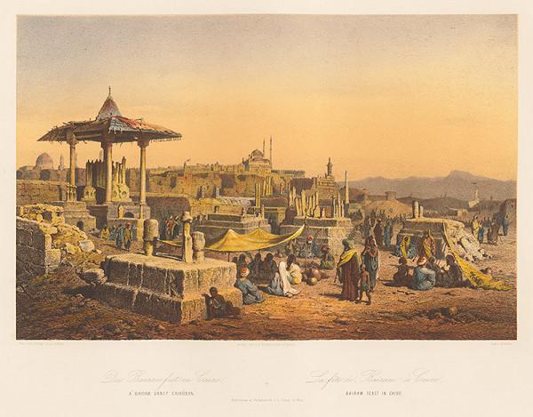 Karol Ľudovít Libay – Oslava Bairam v Káhire