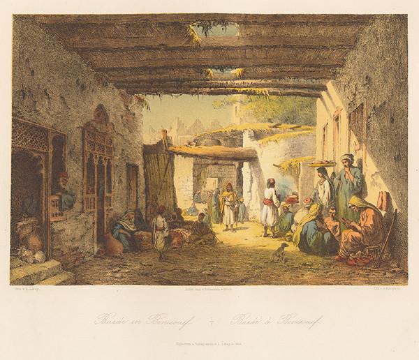 Karol Ľudovít Libay – Bazár v Beni Suef