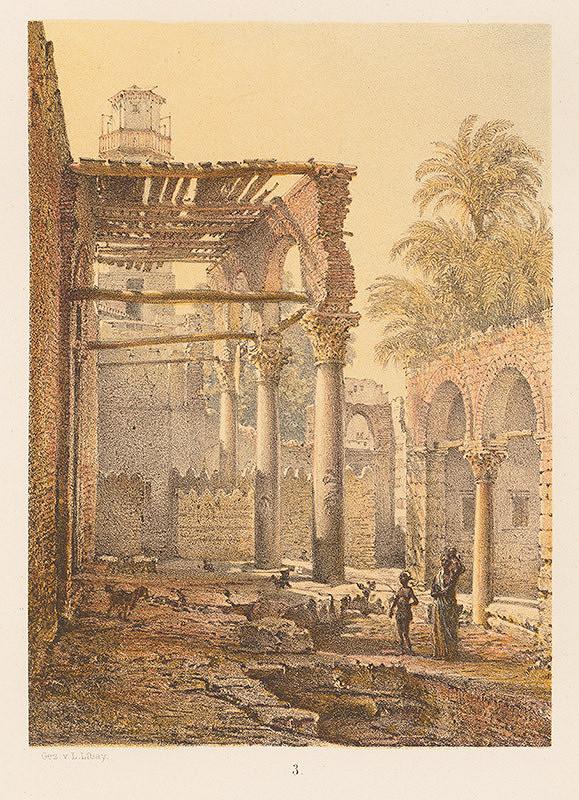Karol Ľudovít Libay – Mešita v Minieh