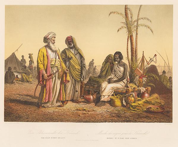 Karol Ľudovít Libay – Trh s otrokmi pri Quene