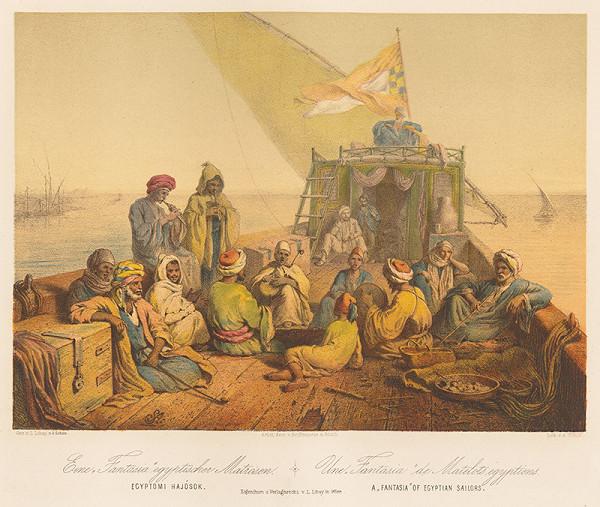 Karol Ľudovít Libay – Fantázia - Egyptskí námorníci