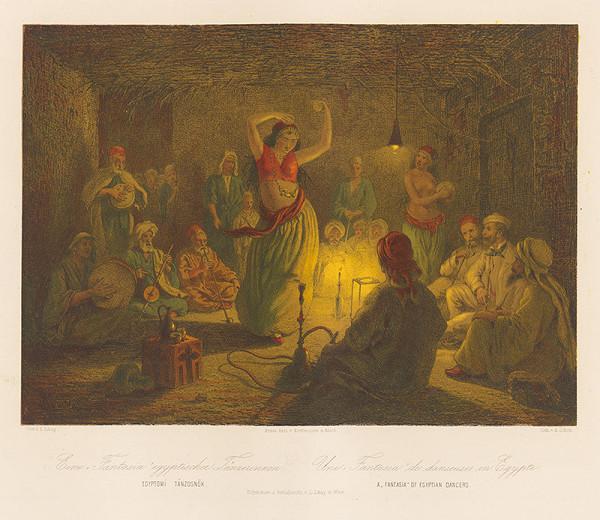 Karol Ľudovít Libay – Fantázia - Egyptské tanečnice